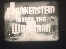 16mm Film Feature: Frankenstein Meets the Wolf Man (1943)