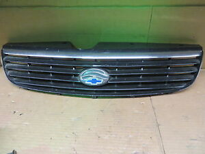CHEVY CHEVROLET MALIBU 97-99 1997-1999 GRILLE WITH EMBLEM BLACK