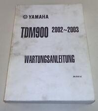 Werkstatthandbuch / Service Manual Yamaha TDM 900 Stand 11/2001