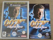 JEU NINTENDO GAMECUBE   JAMES BOND 007 NIGHTFIRE  COMPLET EN FRANCAIS