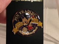 Disney Tokyo Disneyland Trading Pin Mickey Mouse Blue Pin