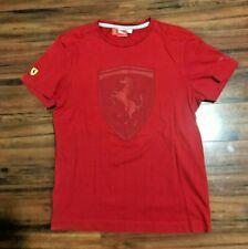 Puma Scuderia Ferrari Formula 1 F1 Team Mens T Shirt Adult Large.