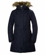 Helly Hansen Mayen Faux Fur Parka In Navy Color, Size M