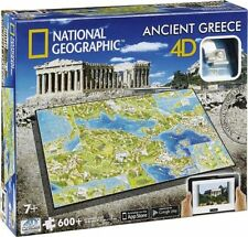 4D Cityscape 500 - 749 Pieces Jigsaw Puzzles
