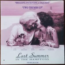 LASERDISC Movie: LAST SUMMER IN THE HAMPTONS - Victoria Foyt - Collectible