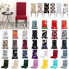 Elastic Dining Chair Covers Stretch Chair Slipcover Removable Chair Protector