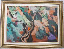 Saverio TERRUSO (Monreale 1939–Milano 2003) RACCOLTA olio su tavola cm 50x70