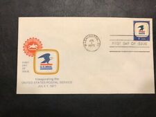 #1396 Artcraft 8c FDC 1971 L909 Inauguration of United States US Postal Service