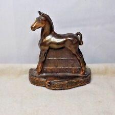 VINTAGE COPPER HORSE FIGURINE - BY ARTIST - PHIL Di NAPOLI