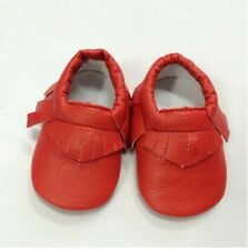 Newborn Spring Baby Soft Sole Leather Shoes Boy Girl Infant Moccasin 0-3 month