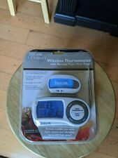 New listing Taylor Gourmet Wireless Thermometer with remote Pager plus timer