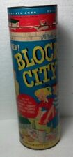 Block City Canister Building blocks toy by Plastic Block City over 150 pcs. B300