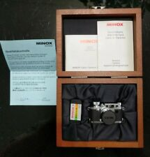 Minox Classic Camera Leica IIIF 60 500 Subminiature Film 8x11mm  New in box! USA