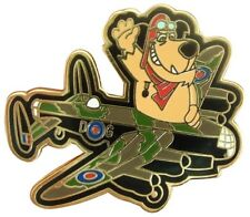 MUTTLEY FLIES THE RAF LANCASTER BOMBER DAMBUSTERS  ENAMEL PIN BADGE