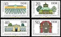 EBS East Germany DDR 1983 - Palaces and Gardens - Michel 2826-2829 MNH**