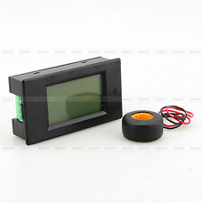 Digital AC 100A Power Meters Monitor Volt Amp kWh Watt Cambo Meter w/ case + CT