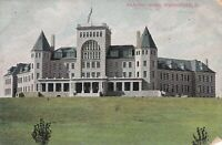 1910 Postcard - Masonic Home - Springfield Ohio - Building View