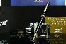 Montblanc 165G Black/Gold Mech. Pencil  0.7mm Brand New IN Original Boxes! MINT