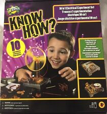 Edu Science 10 In 1 Electrical Experiment Set Ages 8+ Science Experiments NEW