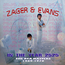 Zager & Evans : In the Year 2525: The RCA Masters 1969-1970 CD (2016) ***NEW***