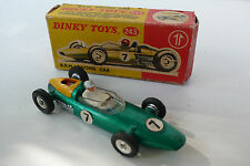 DINKY TOYS GB   B.R.M.  RACING CAR  REF243 1964 BON ÉTAT  BOITE D'O