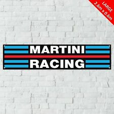 Martini Racing Banner Garage Workshop LARGE PVC Sign Track Motorcycle Display