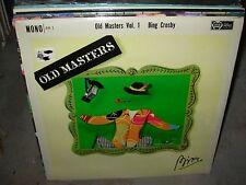 BING CROSBY old masters vol 1 ( country ) SEALED NEW