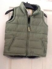 gillet age 7yrs.joules.travel.holiday.coat.green.padded.camping,caravaning