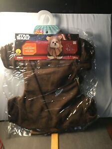 NEW Star Wars Ewok Dog/Puppy Costume Size Small Disney Rubies Pet Shop
