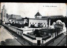 PARIS V° / MOSQUEE & RESTAURANT de la MOSQUEE ... VUE EXTERIEURE animé en 1931