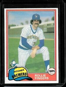 1981 Topps Traded Rollie Fingers #761 NM or Better