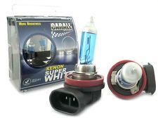 Coppia Lampade Lampadine H8 12V 35W (PGJ19-1) ALOGENA Effetto XENON xeno Bianco