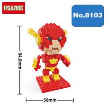 Hsanhe Marvel Hero Avengers The Flash Diamond DIY Nano Blocks Mini Building Toy