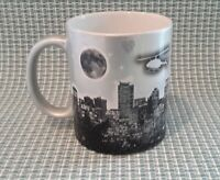 Seattle in Shades of Grey Silver Washington Souvenir Coffee Mug Tea Cup