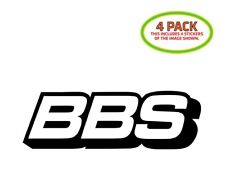 BBS Sticker Vinyl Decal 4 Pack