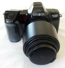 Minolta Dynax Maxxum 7000i SLR Camera Sigma AF Zoom Lens & Bag & Manuals