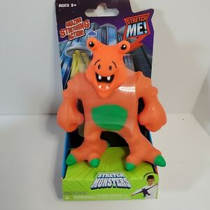 NEW Stretch Monsters Xtendar the Orange Monster by Magic Time Strong Arms