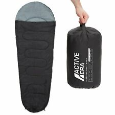 One Person Sleeping Bag Premium Mummy Shape Resting Sack Travel Camping Light
