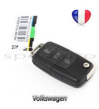 plip coque clé Volkswagen 3 btons Vw Polo Golf Beetle Jetta Passat Bora + lame