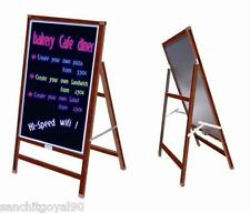 Fluorescent Led writing menu board display with stand with 8 FREE MARKERS