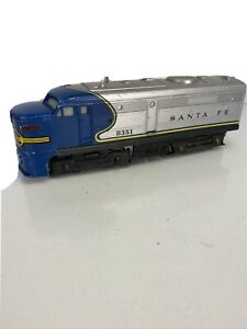 Lionel 6-8351 Santa Fe Blue & Silver Powered Alco A Unit