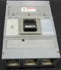 Siemens ITE LXD63S600A Molded Case Switch 600 Amp 3 Pole