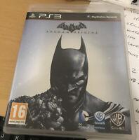 SONY PS3 GAME BATMAN ARKHAM ORIGINS 16+ PLAYSTATION 3