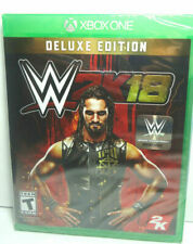 XBOX ONE WWE W2K18 DELUXE EDITION BRAND NEW SEALED