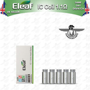 ELEAF IC REPLACEMENT COILS 1.1 OHM - PACK OF 5
