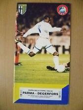 COPPA DELLE COPPE 1993-94 - Parma V DEGERFORS