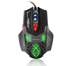 Sumvision Panzer LED USB Wired Programmable Optical Gaming Mouse 2500 DPI