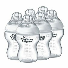 Tommee Tippee Closer to Nature 260ml/9oz Bottles x 6