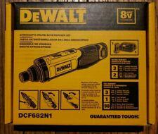 BRAND NEW DEWALT DCF682N1 GYROSCOPIC INLINE SCREWDRIVER KIT 8V