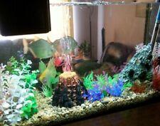 Aquarium Volcano Shape Fish Tank Decoration Bubbler Ornament Bubble Air Stone x1